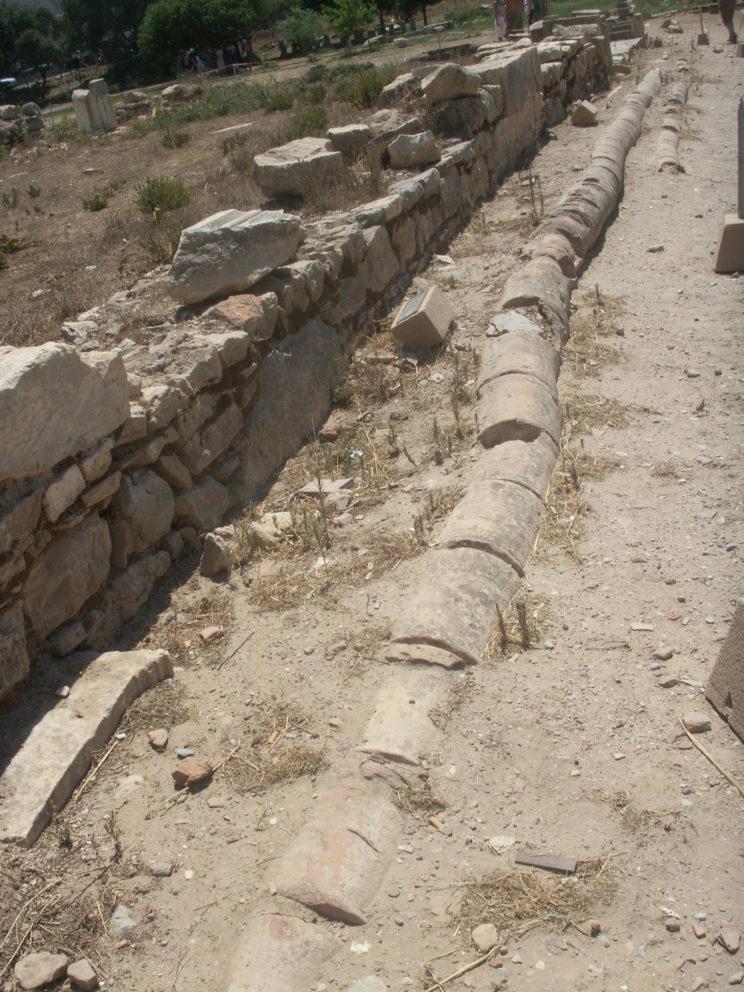 Раскопки древнего Эфеса